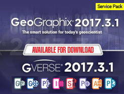 GeoGraphix and GVERSE 2017.3.1