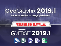 GVERSE and GeoGraphix 2019.1
