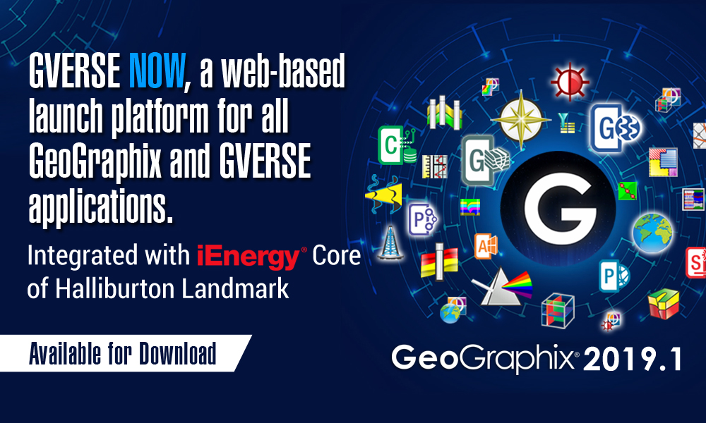 GeoGraphix and GVERSE 2019.1